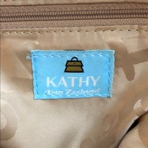 Kathy Van Zeeland Bags - Kathy Van Zeeland Gold Pocketbook